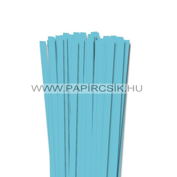 Aquablau, 10mm Quilling Papierstreifen (50 Stück, 49 cm)
