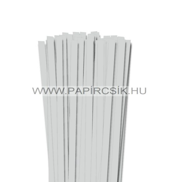 Hellgrau, 10mm Quilling Papierstreifen (50 Stück, 49 cm)