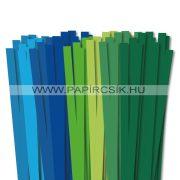10mm Quilling Papierstreifen Starter Kit III. (8x10stk, 49cm)