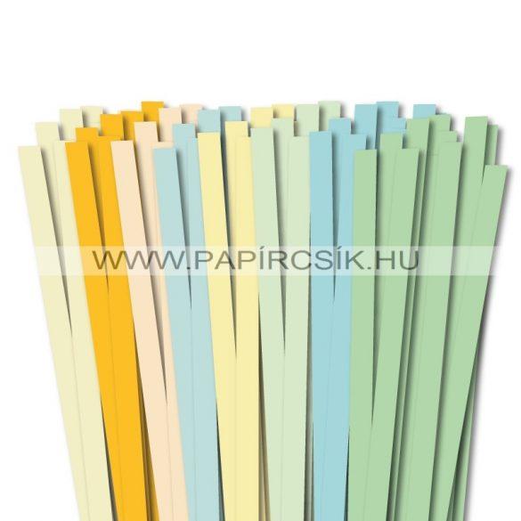 10mm Quilling Papierstreifen Starter Kit V. (8x10stk, 49cm)