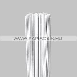 Weiß (Schneeweiß), 2mm Quilling Papierstreifen (120 Stück, 49 cm)
