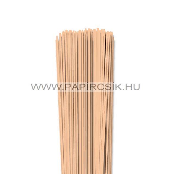 Körperfarbe / Pfirsich, 2mm Quilling Papierstreifen (120 Stück, 49 cm)