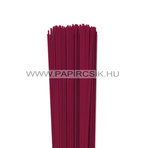 Kirschfarbe, 2mm Quilling Papierstreifen (120 Stück, 49 cm)