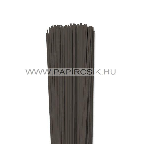 Dunkelbraun, 2mm Quilling Papierstreifen (120 Stück, 49 cm)