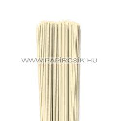 Elfenbein, 2mm Quilling Papierstreifen (120 Stück, 49 cm)