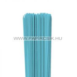 Aquablau, 2mm Quilling Papierstreifen (120 Stück, 49 cm)