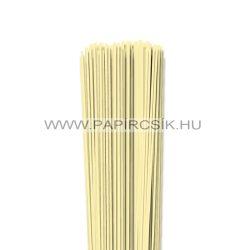 Strohgelb, 2mm Quilling Papierstreifen (120 Stück, 49 cm)