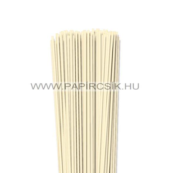 Elfenbein, 3mm Quilling Papierstreifen (120 Stück, 49 cm)