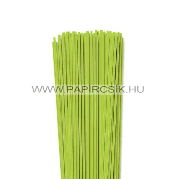 Frühlingsgrün, 3mm Quilling Papierstreifen (120 Stück, 49 cm)