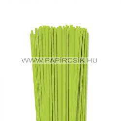 Frühlingsgrün, 4mm Quilling Papierstreifen (110 Stück, 49 cm)