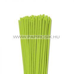 Frühlingsgrün, 5mm Quilling Papierstreifen (100 Stück, 49 cm)