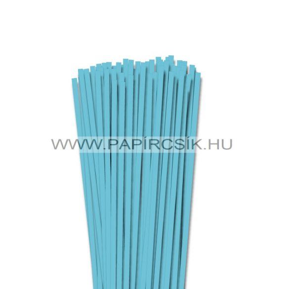 Aquablau, 5mm Quilling Papierstreifen (100 Stück, 49 cm)