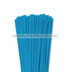 Aquablau, 6mm Quilling Papierstreifen (90 Stück, 49 cm)
