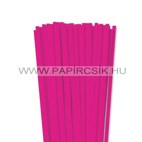 Pink, 7mm Quilling Papierstreifen (80 Stück, 49 cm)