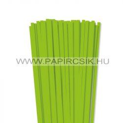 Hellgrün, 7mm Quilling Papierstreifen (80 Stück, 49 cm)