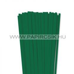 Dunkelgrün, 7mm Quilling Papierstreifen (80 Stück, 49 cm)