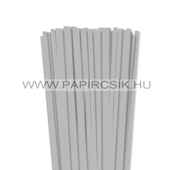 Silber, 7mm Quilling Papierstreifen (80 Stück, 49 cm)