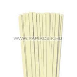 Vanille, 7mm Quilling Papierstreifen (80 Stück, 49 cm)