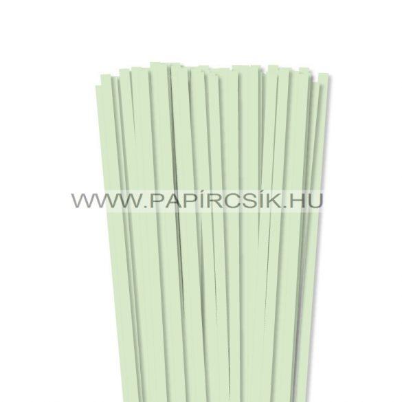 Blassgrün, 7mm Quilling Papierstreifen (80 Stück, 49 cm)