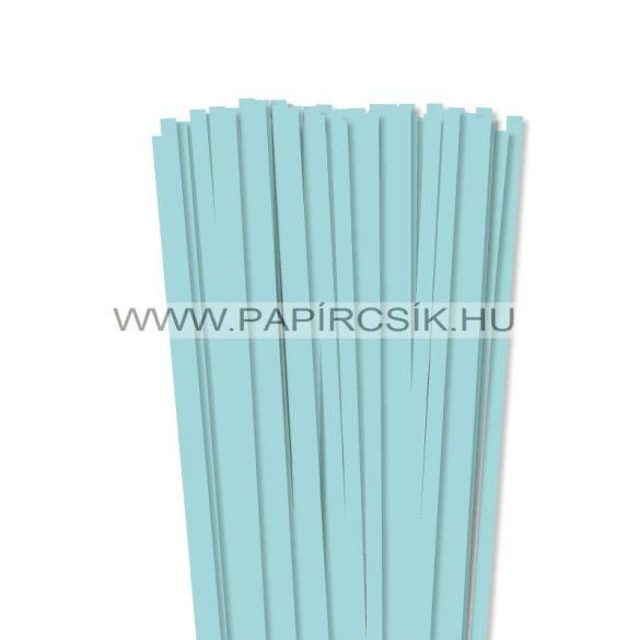 Mittelblau, 7mm Quilling Papierstreifen (80 Stück, 49 cm)