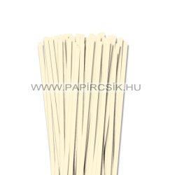 Elfenbein, 7mm Quilling Papierstreifen (80 Stück, 49 cm)