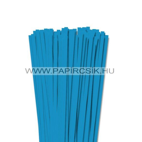 Aquablau, 7mm Quilling Papierstreifen (80 Stück, 49 cm)