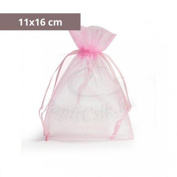 Organzabeutel (11x16cm, pink)