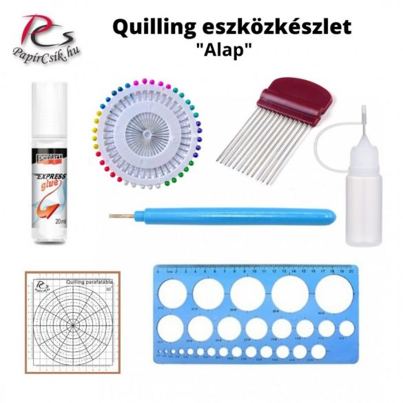 Quilling Toolkit, Set (I. - Anfänger)