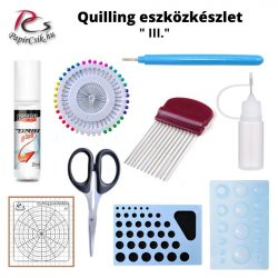 Quilling Toolkit, Set (III. - Fortgeschritten)
