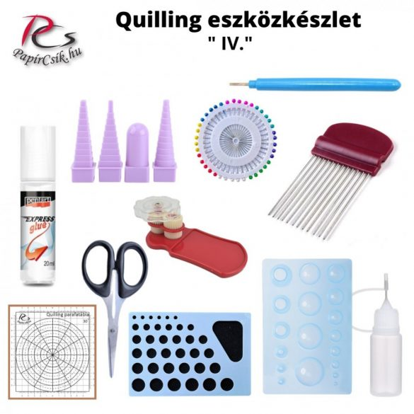 Quilling Toolkit, Set (IV. - Groß)