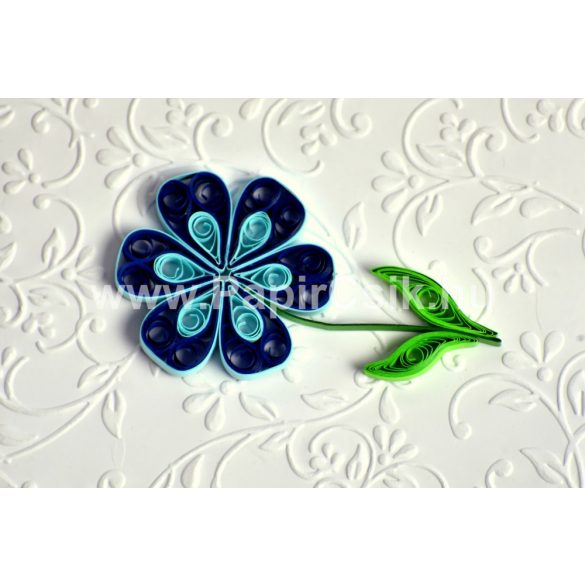 Blumen 3. - Quilling Muster (220 Stück Streifen und Beschreibung mit Bilder)