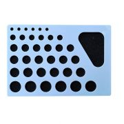 Quilling Schablonen-Tabelle II. - Für runde Formen