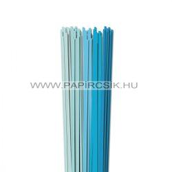 Hellblau Farbton, 4mm Quilling Papierstreifen (5x20, 49 cm)