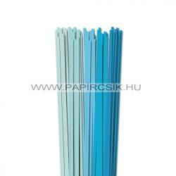 Hellblau Farbton, 5mm Quilling Papierstreifen (5x20, 49 cm)