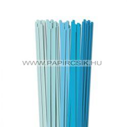 Hellblau Farbton, 6mm Quilling Papierstreifen (5x20, 49 cm)