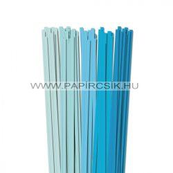 Hellblau Farbton, 7mm Quilling Papierstreifen (5x20, 49 cm)