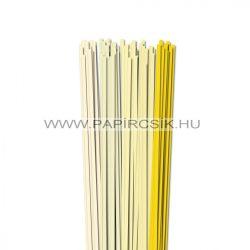 Hellgelb Farbton, 5mm Quilling Papierstreifen (5x20, 49 cm)