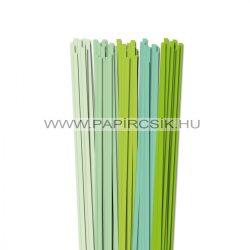 Hellgrün Farbton, 6mm Quilling Papierstreifen (5x20, 49 cm)