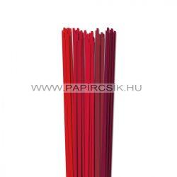 Rot Farbton, 4mm Quilling Papierstreifen (5x20, 49 cm)