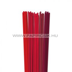 Rot Farbton, 5mm Quilling Papierstreifen (5x20, 49 cm)