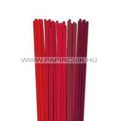 Rot Farbton, 6mm Quilling Papierstreifen (5x20, 49 cm)