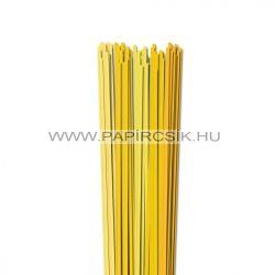 Gelb Farbton, 4mm Quilling Papierstreifen (5x20, 49 cm)