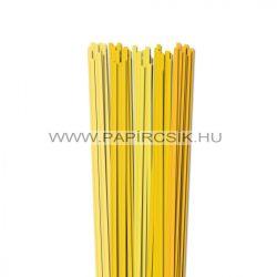Gelb Farbton, 5mm Quilling Papierstreifen (5x20, 49 cm)