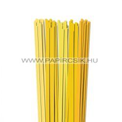 Gelb Farbton, 6mm Quilling Papierstreifen (5x20, 49 cm)