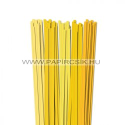 Gelb Farbton, 7mm Quilling Papierstreifen (5x20, 49 cm)