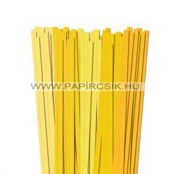 Gelb Farbton, 10mm Quilling Papierstreifen (5x20, 49 cm)