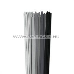 Grau Farbton, 5mm Quilling Papierstreifen (5x20, 49 cm)